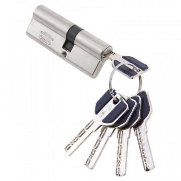 Цилиндровый механизм Vantage 90 мм (35х55)  sn матовый никель перфо ключ/ключ