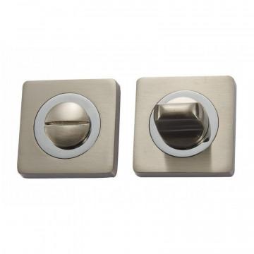 Накладка санузловая Vantage (ручка поворотная) BK 02 D матовый никель