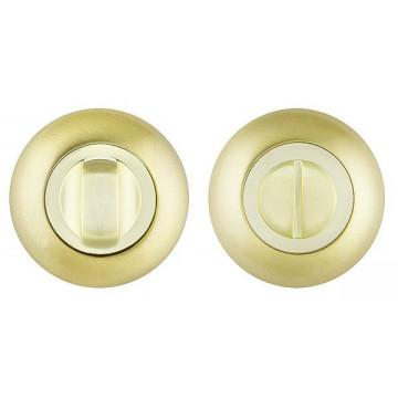 Накладка санузловая (ручка поворотная) BKD SB матовое золото Vantage