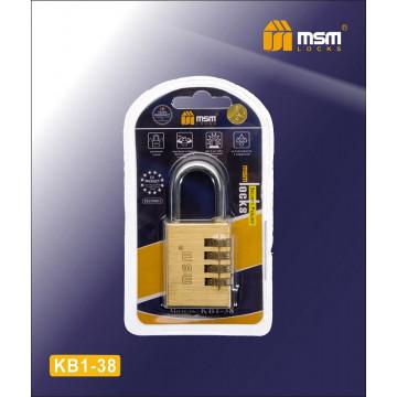Замок навесной кодовый MSM KB1 38 мм
