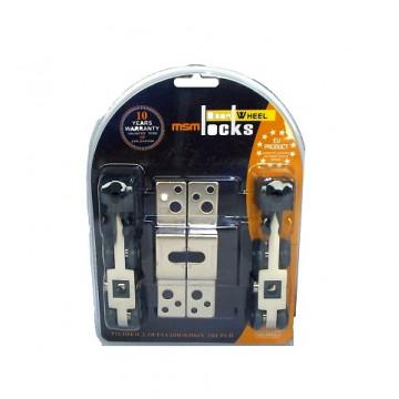 Ролики для раздвижных дверей комплект MSM RD4 в блистере