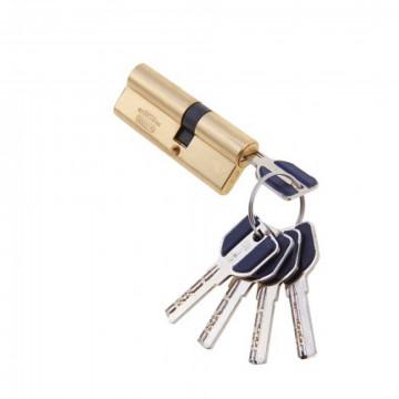 Цилиндровый механизм LIVGARD C45/35 перфо. ключ-ключ PB полированная латунь