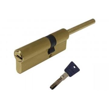 Цилиндровый механизм L 60 mm (30х30S) SB перфо к/в  длинный шток