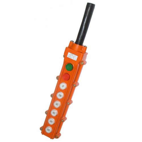 Пост кнопочный COB-63 IP54 (6 Кнопок)