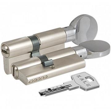 Цилиндровый механизм с вертушкой 164 BM/68 (26+10+32) mm никель 5 кл.