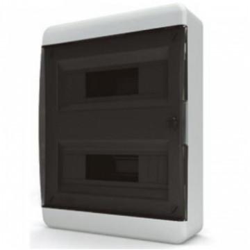 Щит навесной IP40 24 модулей прозр/черный BNK TekFor