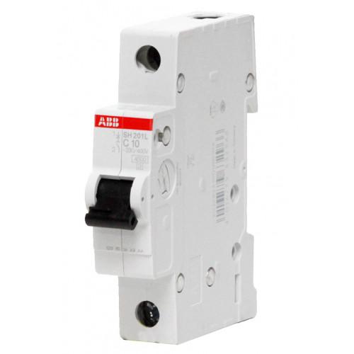 Автоматический выключатель SH201L C10 ABB
