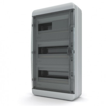 Щит навесной IP40 36 модулей белый BNN TekFor