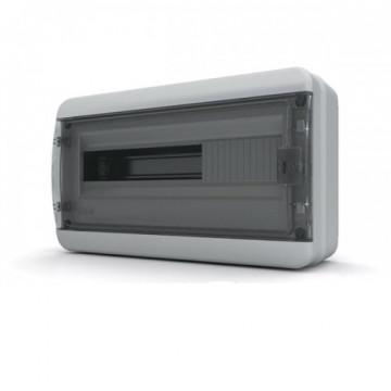 Щит навесной IP65 18 модулей прозр/черный CNK TekFor