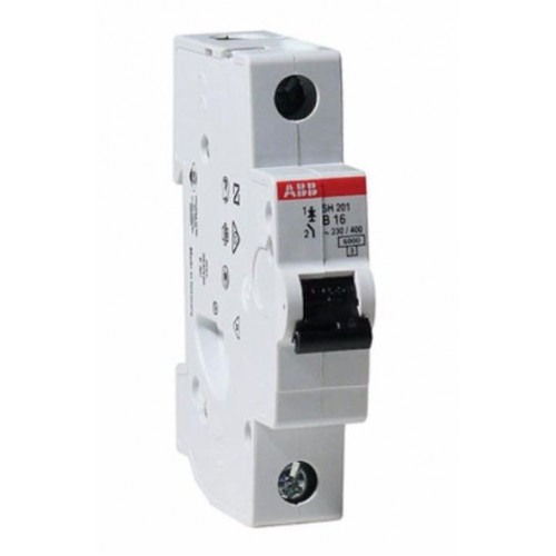 Автоматический выключатель SH201L C16 ABB