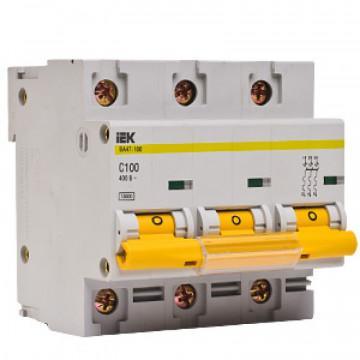 Автомат IEK 3-P 100A