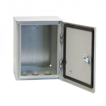 Щит с монтажной панелью ЩМП-00 IP31 металлический