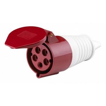 Розетка кабельная HT-233 63А 1Р+N+РЕ переносная 220В IP67