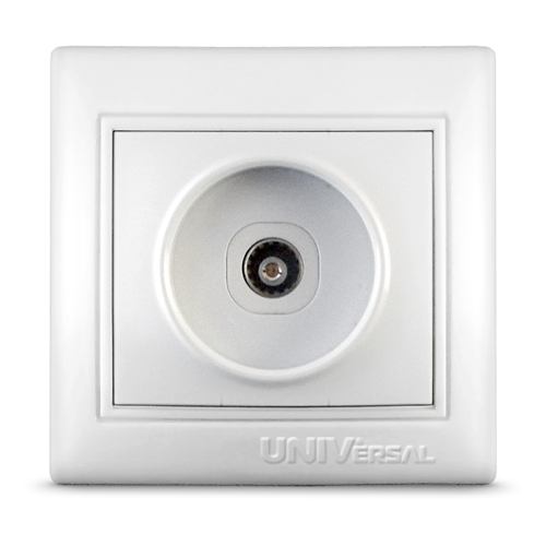 Розетка TV UNIVersal Севиль бел