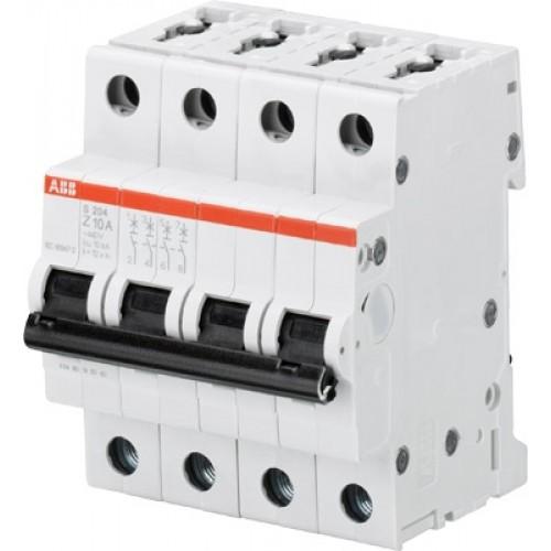 Выключатель автоматический четырехполюсный SH24L C40 ABB