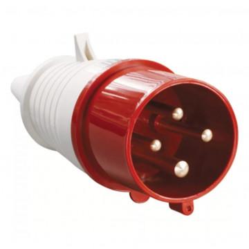 Вилка кабельная НТ-014 переносная 16А 3Р+PE 380В IP-44