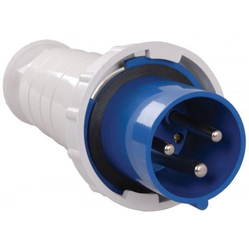 Вилка кабельная НТ-033 переносная 63А 1Р+N+РЕ 220В IP-67
