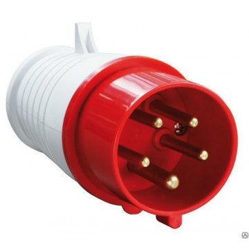 Вилка кабельная НТ-034 переносная 63А 3Р+РЕ 380В IP-67