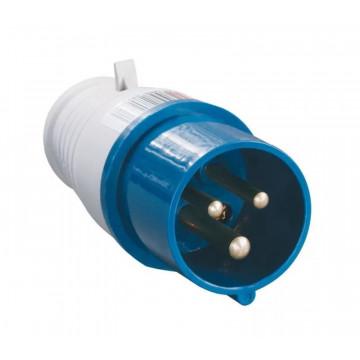 Вилка кабельная НТ-013 переносная 16А 1Р+N+РЕ 220В IP-44