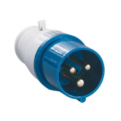 Вилка кабельная НТ-023 переносная 32А 1Р+N+РЕ 220В IP-44