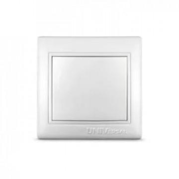 Выключатель одноклавишный UNIVersal серия Севиль, с/у, бел