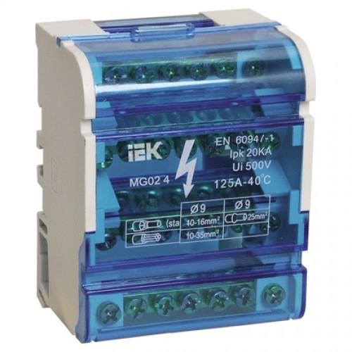 Кросс-модуль на DIN-рейку 4х15 250В