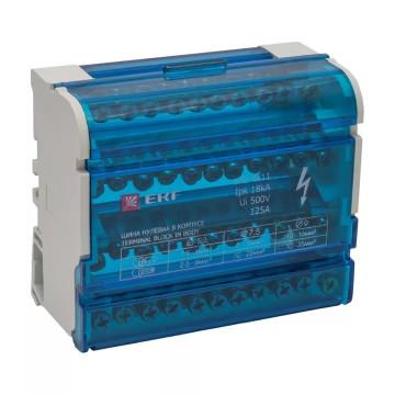 Кросс-модуль на DIN-рейку 4х11 250В