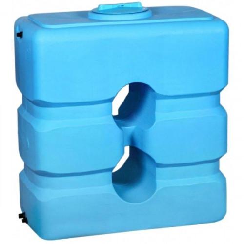 Бак для воды ATР-1000 (синий) с поплавком