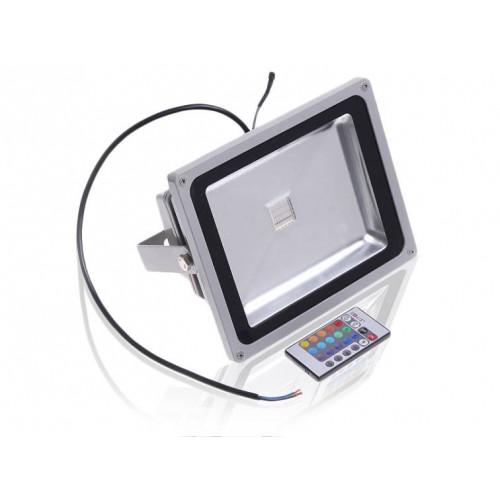 Светодиодный прожектор RGB 30W IP65 220V