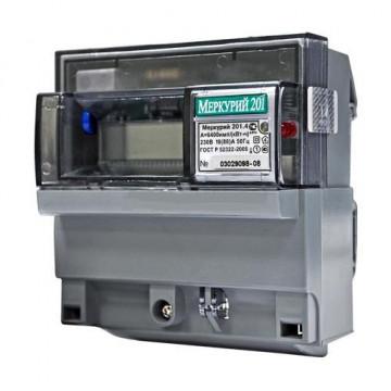 Электросчетчик Меркурий 201.4 ЖКИ 10(80)А