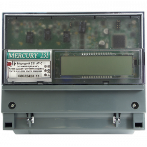 Электросчетчик Меркурий 231 АТ-01 I ЖКИ 5(60)А