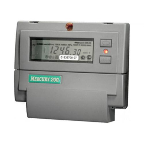 Электросчетчик Меркурий 200.2 ЖКИ 5(60)А/230В