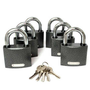 Замки висячие Apecs PD-01-63 (6Locks+5Keys)