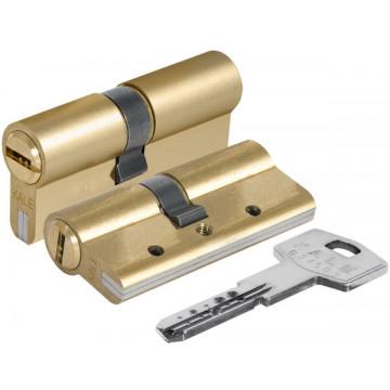 Цилиндровый механизм 164 DBN-E/68 (26+10+32) mm латунь 5 кл.