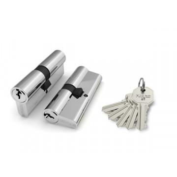Цилиндровый механизм 100 CA 68 mm (26+10+32) PB латунь 5 кл.