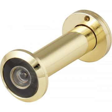 DVZ2, глазок, 16/200/60x100 (оптика пластик, угол обзора 200) GP Золото (подвес)