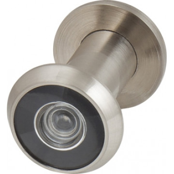 Глазок дверной, стеклянная оптика DVG1/HD, 16/35х60 SN Мат. никель