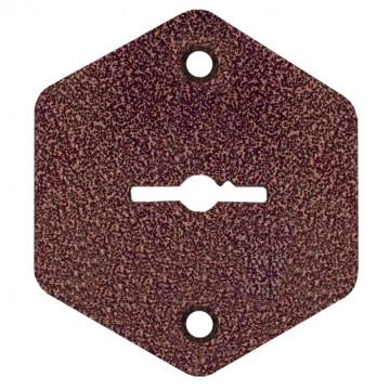 Комплект шестигранных накладок НШ-002 медный антик /70044/