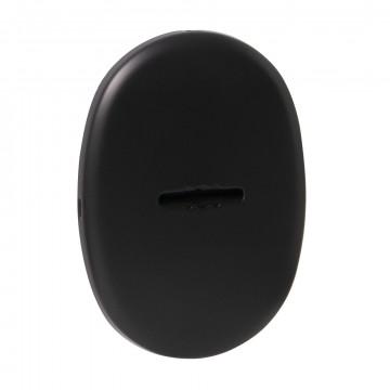 Декоративная накладка ESC 477 eco BL-24 черный на сувальдный замок с автоматическими шторками