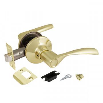 Ручка защелка 6010 PB-P (без фик.) золото