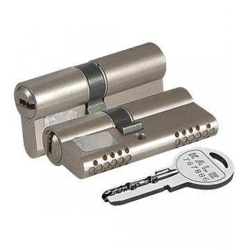 Цилиндровый механизм 164 OBS SNE/90 (35+10+45) mm никель 5 кл.