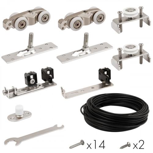 Базовый комплект для синхронного открывания дверей Comfort - PRO SET 4 /synchron/ 80 (CFA171A)