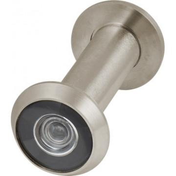 Глазок дверной, стеклянная оптика DVG3/HD, 16/60х100 SN Мат. никель