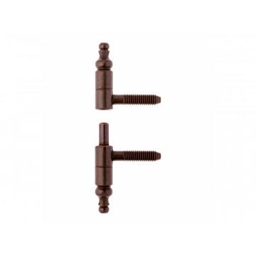 Петля ввертная CF605090BN09 опора D=9 (бронза)