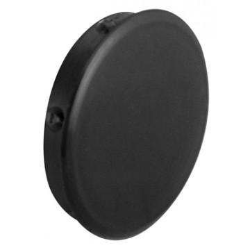 Заглушка отверстия пластик (диаметр 25 мм) черн