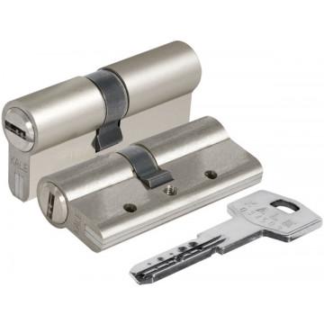 Цилиндровый механизм 164 DBN-E/68 (26+10+32) mm никель 5 кл.