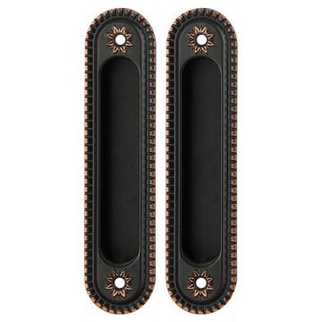 Ручка для раздвижных дверей SH010/CL ABL-18 Темная медь