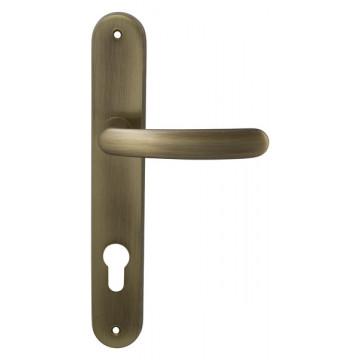 Ручка дверная на планке Elba бронза